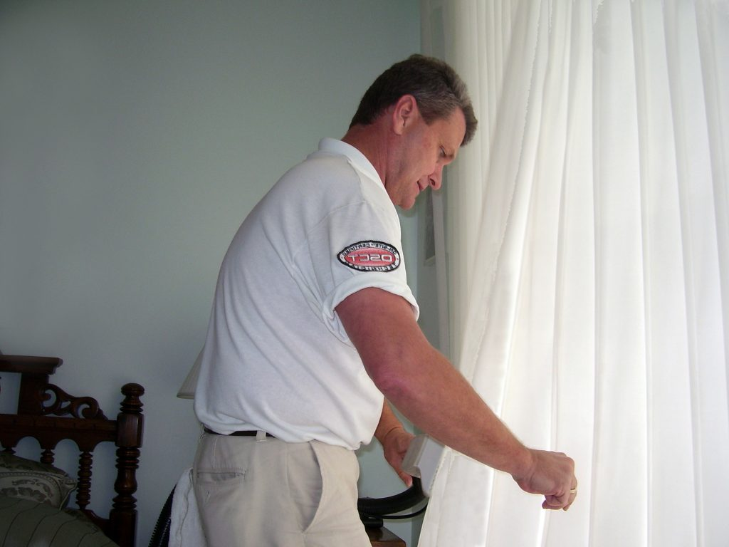 Drapery Cleaning by ADVANCED ON-SITE