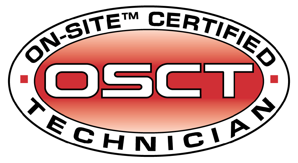 ON-SITE Certified Technician